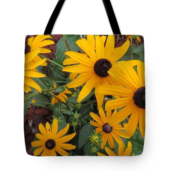 Yellow Stant Out Tote Bag