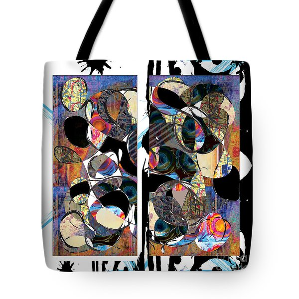 Yellow Submarine Crashes Into The Blue Meanies Tote Bag