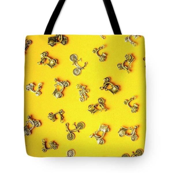 Yellow Summer Transport Tote Bag
