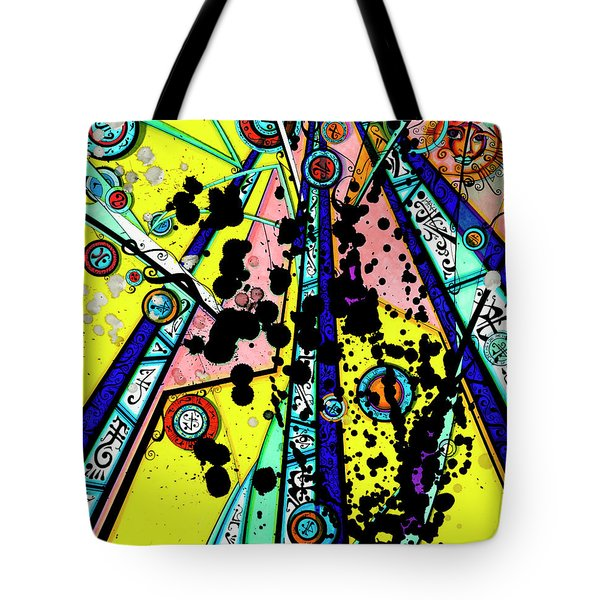 Yellow Sun Tote Bag