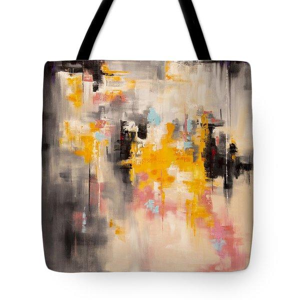 Yellow Sun Tote Bag by Suzzanna Frank