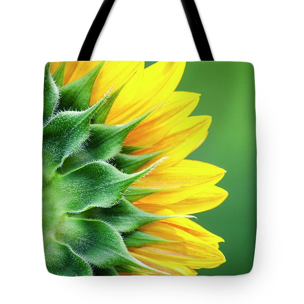 Yellow Sunflower Tote Bag by Christina Rollo