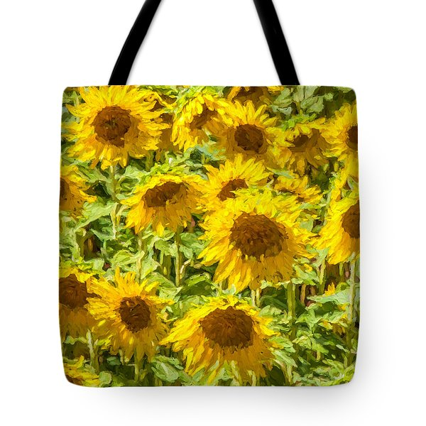 Yellow Sunflowers Tote Bag