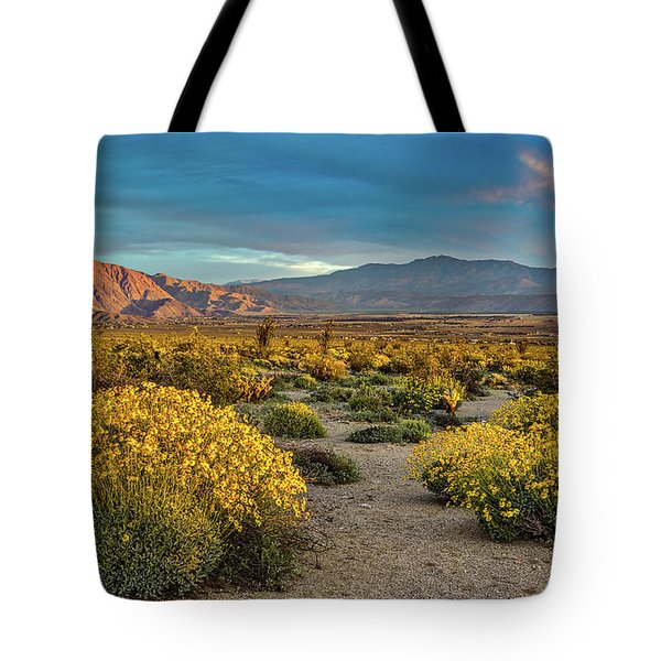 Tote Bag featuring the photograph Yellow Sunrise by Peter Tellone