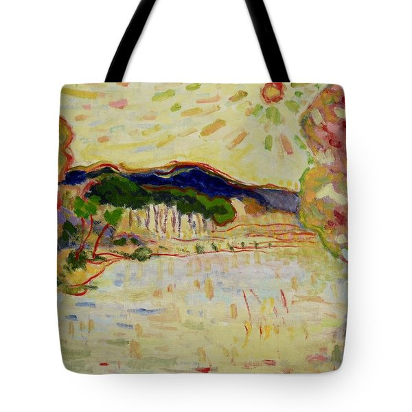 Beynac Et Cazenac , Dordogne , Yellow Sunshine  Tote Bag