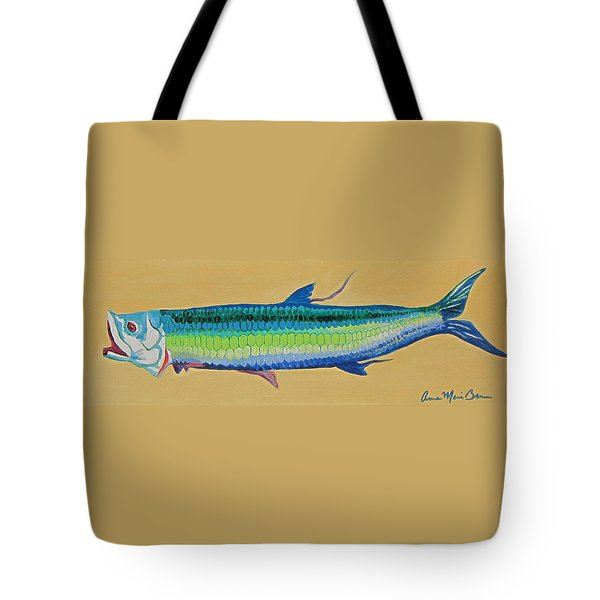 Yellow Tarpon Tote Bag