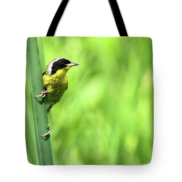 Yellow Throat Tote Bag