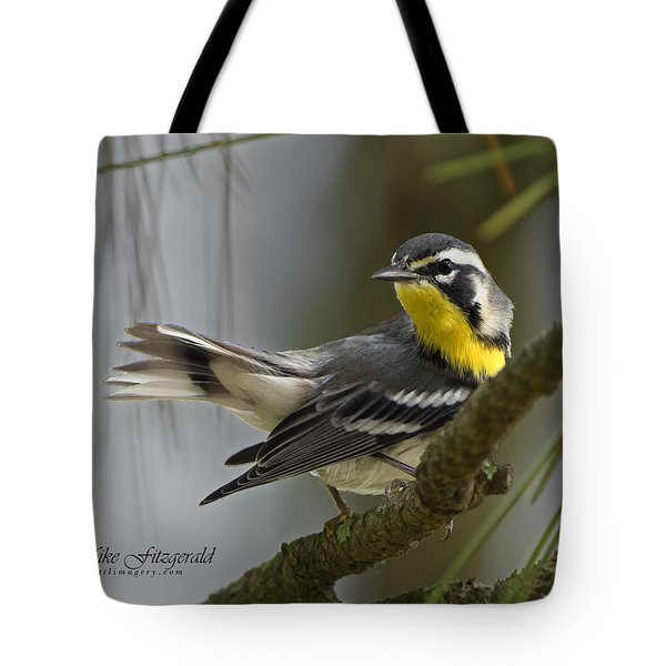 Yellow-throated Warbler Tote Bag