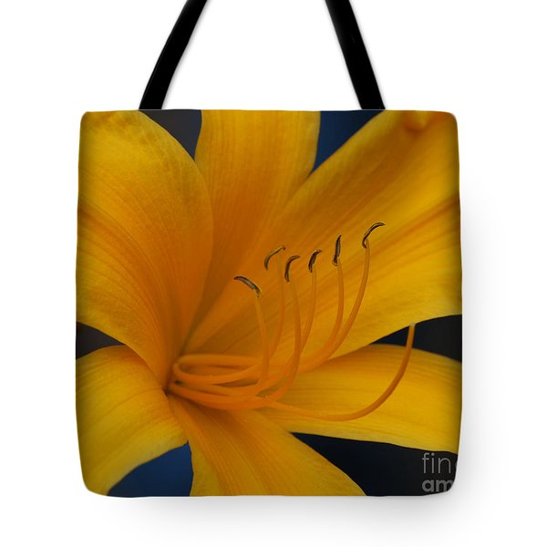 Yellow Tiger Lilly Tote Bag