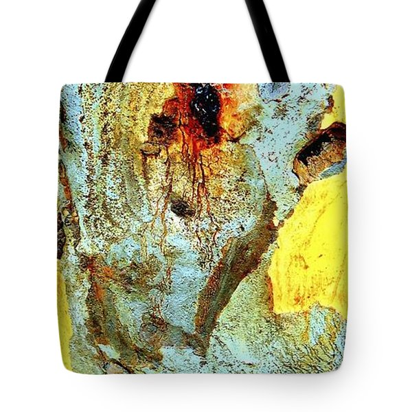 Yellow Tree - And  Ant  Australia Tote Bag