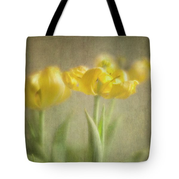 Tote Bag featuring the photograph Yellow Tulips by Elena Nosyreva