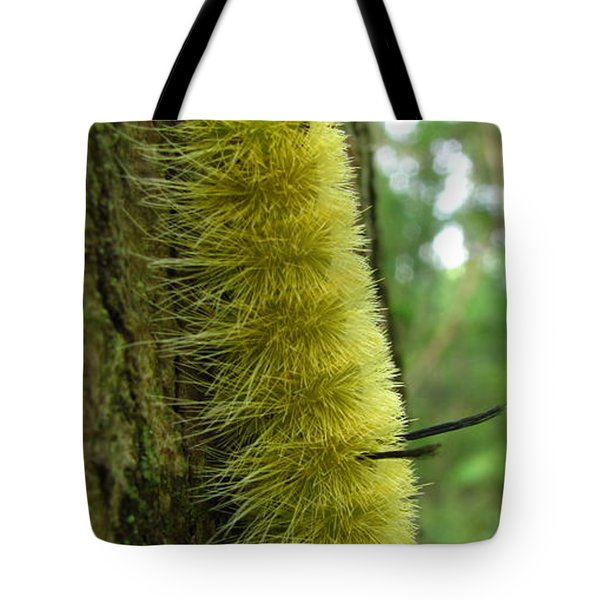 Yellow Tussock Tote Bag