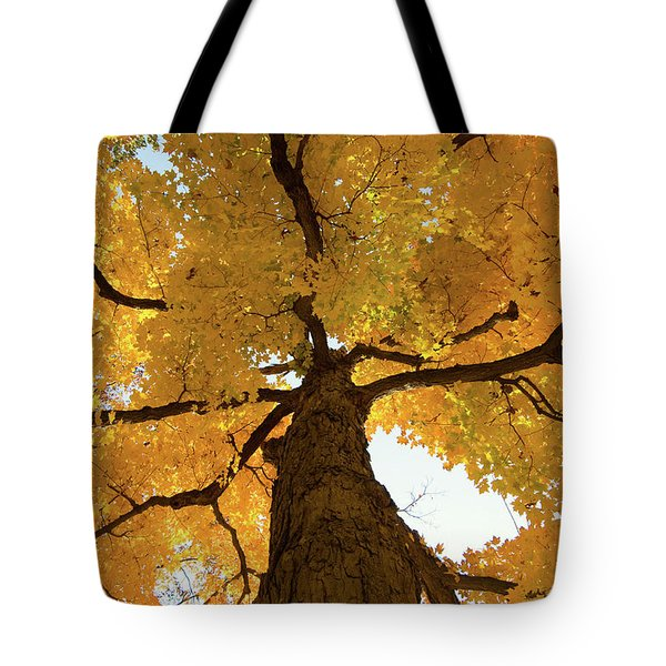 Yellow Up Tote Bag