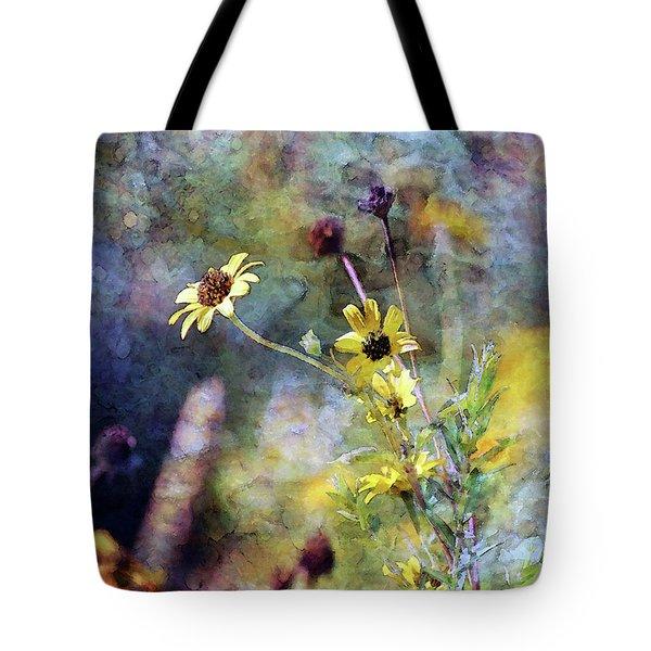 Yellow Wildflowers 3230 Idp_2 Tote Bag