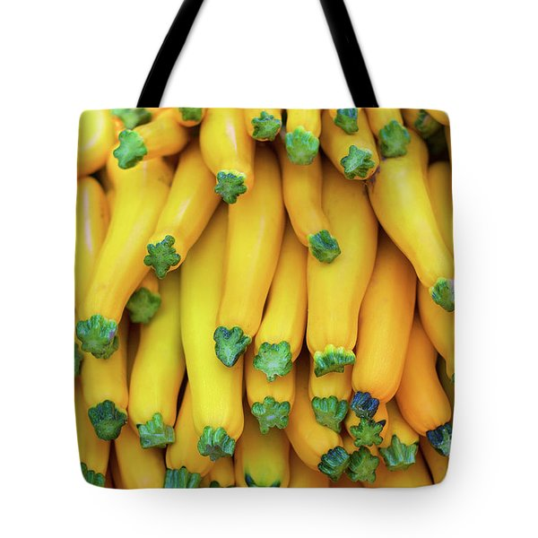Yellow Zucchini Tote Bag