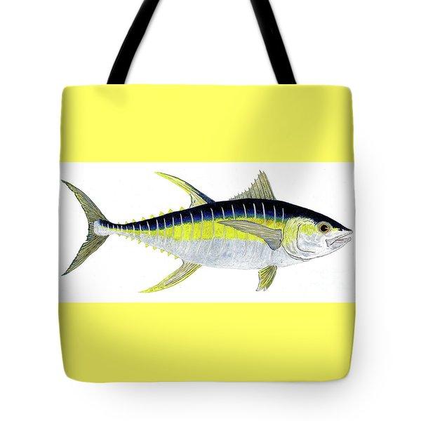 Yellowfin Tuna Tote Bag