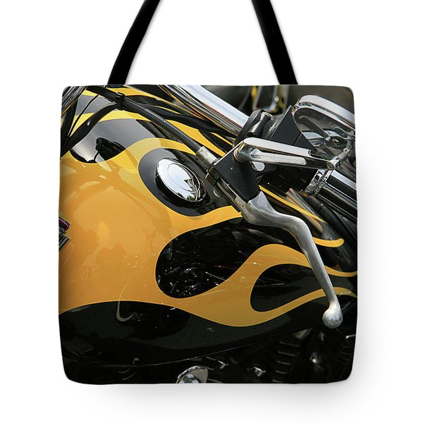 Yellowjacket Tote Bag