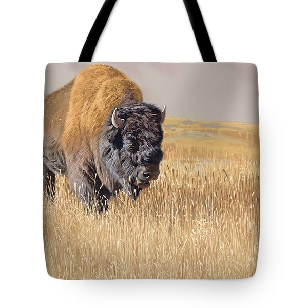 Yellowstone King Tote Bag