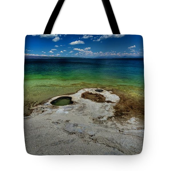 Yellowstone Lake Tote Bag