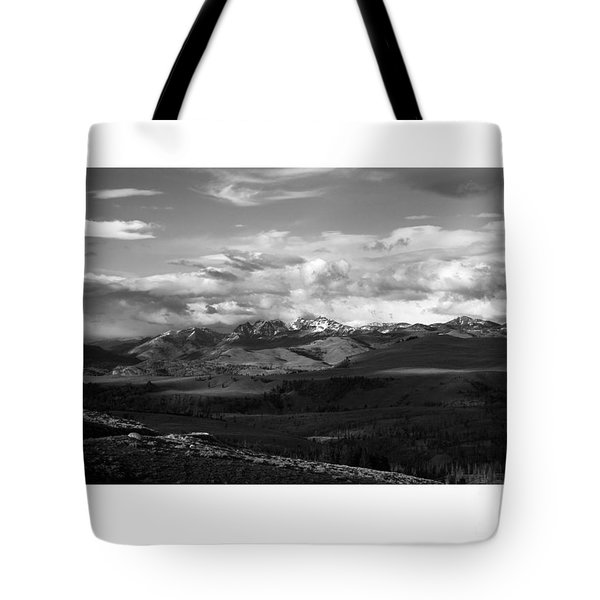 Yellowstone National Park Scenic Tote Bag