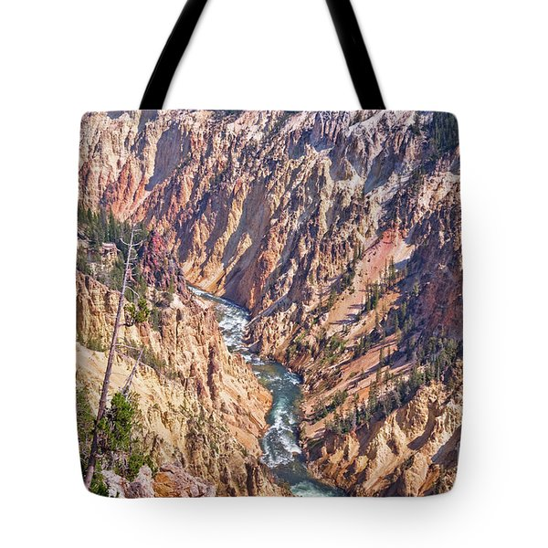 Yellowstone River Tote Bag