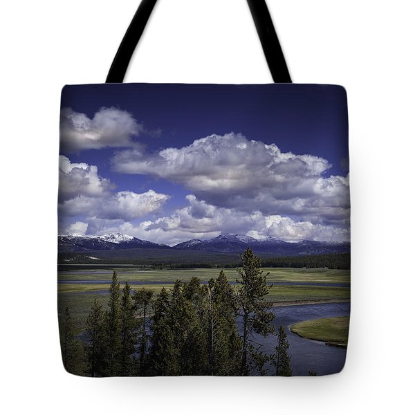 Yellowstone River Tote Bag by Jason Moynihan