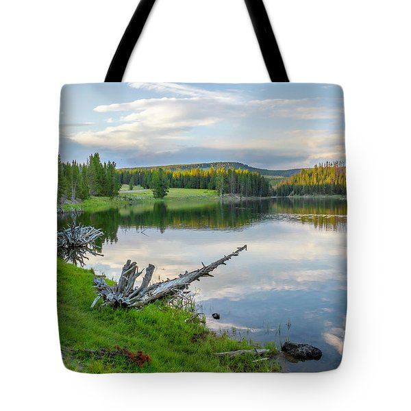 Yellowstone River Off Grand Loop Tote Bag