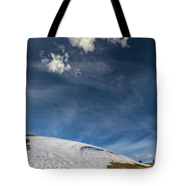 Tote Bag featuring the photograph Yellowstone Sky by John M Bailey