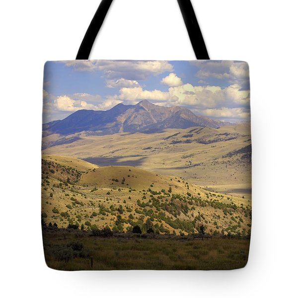 Yellowstone View Tote Bag by Marty Koch