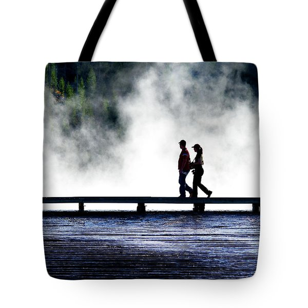 Yellowstone Walkers Tote Bag