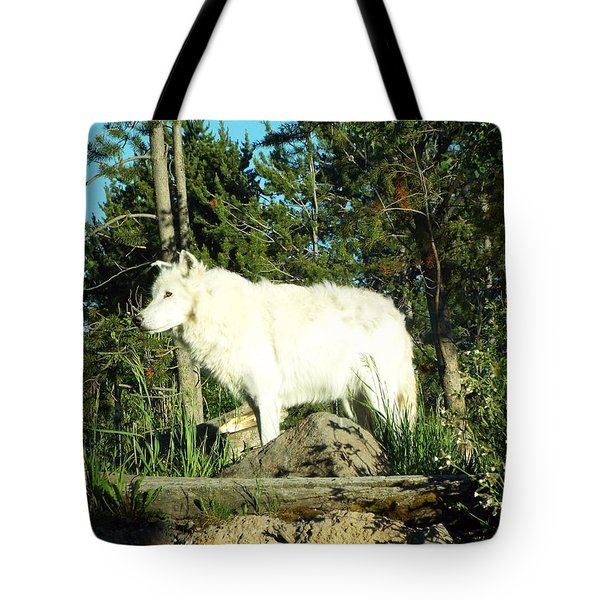 Yellowstone Wolf Pack Member Tote Bag
