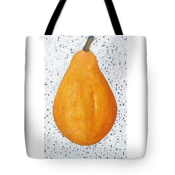 Yelow Pear Tote Bag