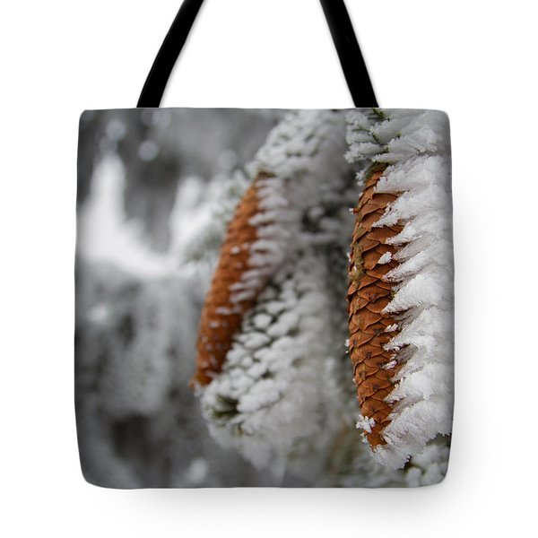 Yep, It's Winter Tote Bag by Andreas Levi