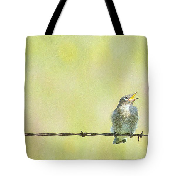 Tote Bag featuring the photograph Yer Right Little Guy by Al  Swasey