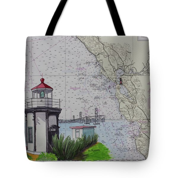 Yerba Buena Island Lighthouse Tote Bag