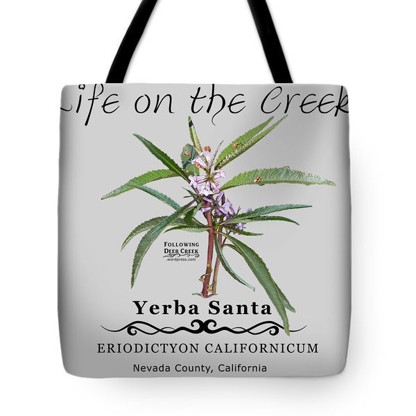 Yerba Santa Tote Bag