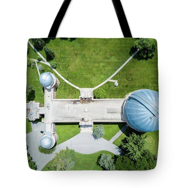 Tote Bag featuring the photograph Yerkes Observatory by Randy Scherkenbach