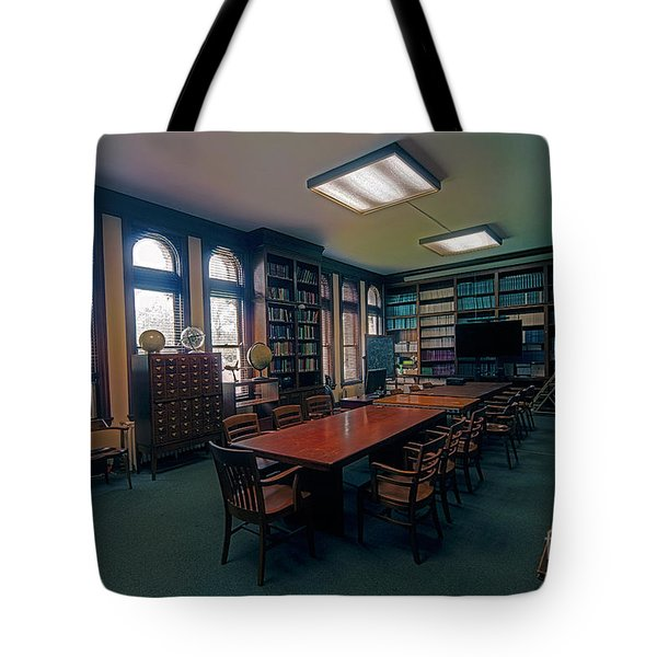 Tote Bag featuring the photograph Yerkes Observatory, Williams Bay Study by Tom Jelen