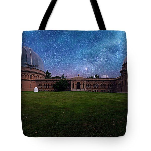 Tote Bag featuring the photograph Yerkes Observatory Williams Bay by Tom Jelen