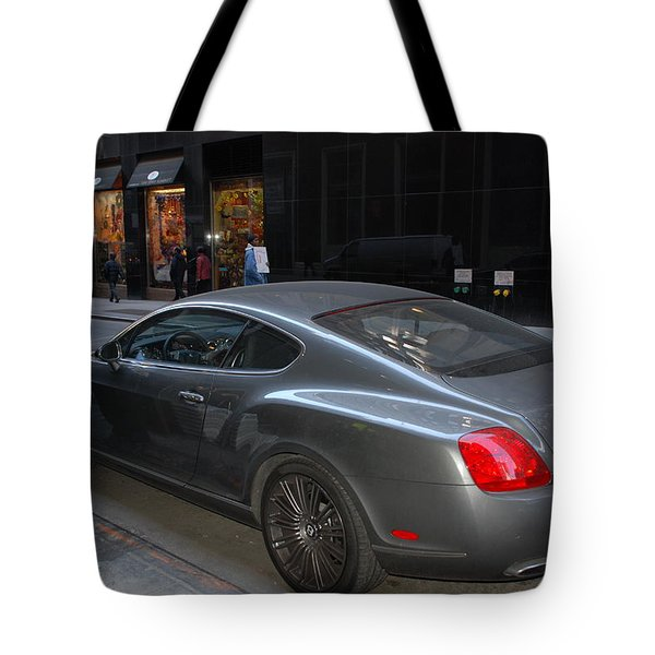 Yes    Write Him Up Cop Tote Bag by Rob Hans