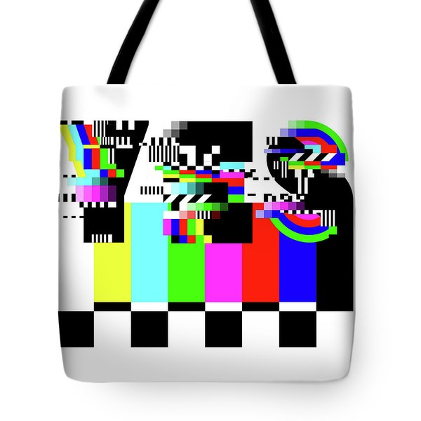 Tote Bag featuring the digital art YES by Bee-Bee Deigner