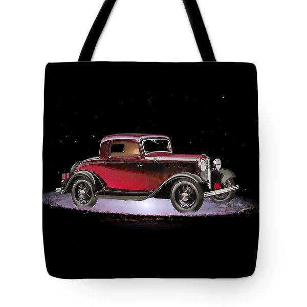 Yesterdays Car Of Tomorrow Tote Bag