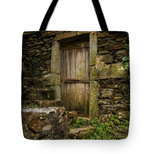 Yesterday's Garden Door Tote Bag