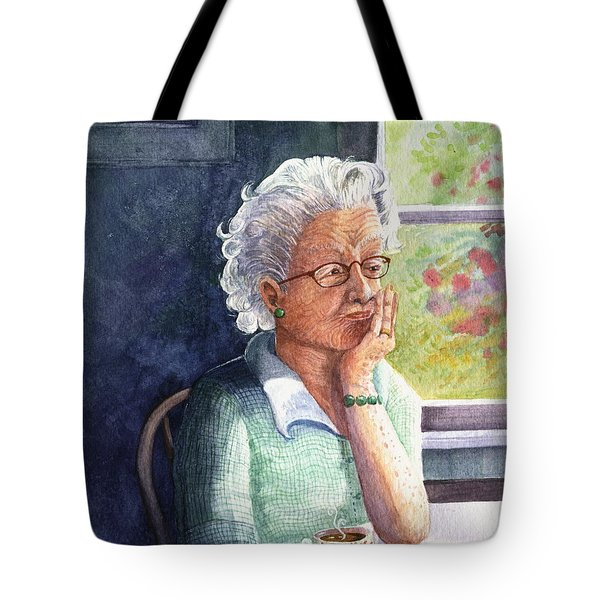Tote Bag featuring the painting Yesterday's Gone by Marilyn Smith