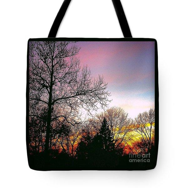 Yesterday's Sky Tote Bag