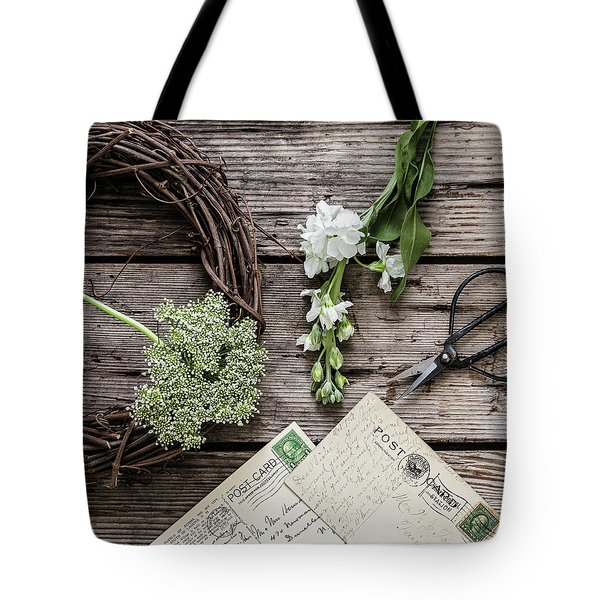 Tote Bag featuring the photograph Yesterdays Treasure by Kim Hojnacki