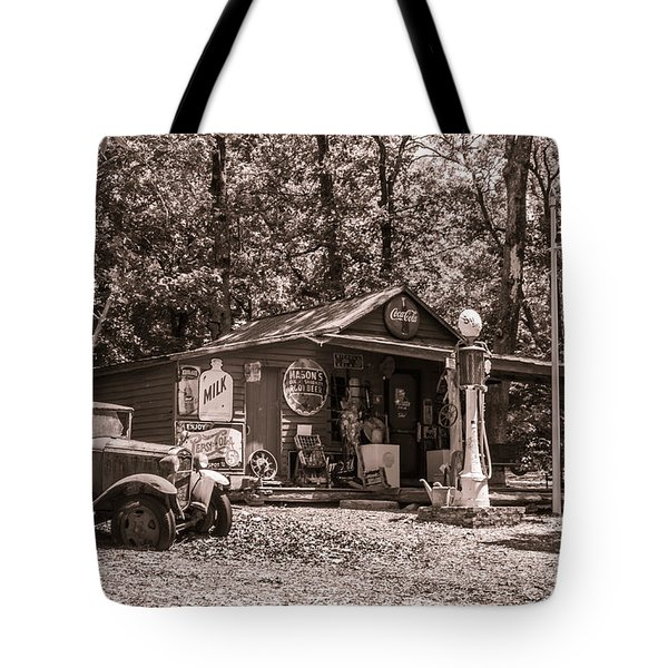 Tote Bag featuring the photograph Yesterville Country Store by Lynne Jenkins