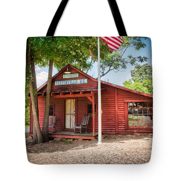 Tote Bag featuring the photograph Yesterville Post Office by Lynne Jenkins