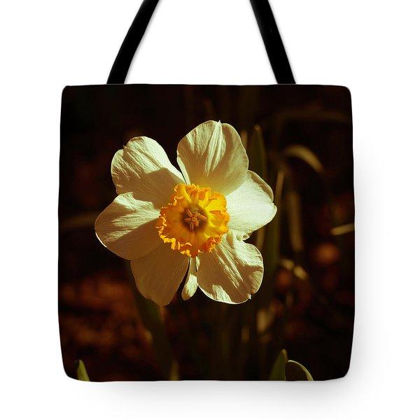 Yesteryear Daffodil Tote Bag