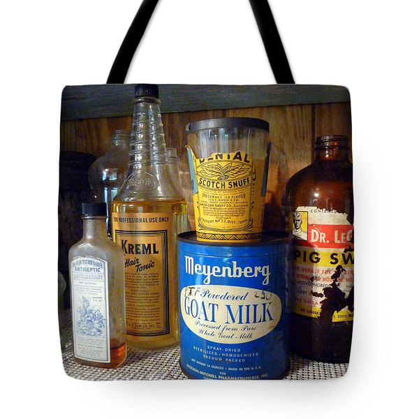 Yesteryear's Goods Tote Bag